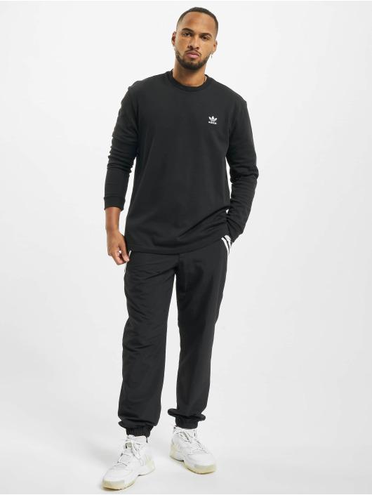 adidas Originals Longsleeve Back And Front Trefoil schwarz