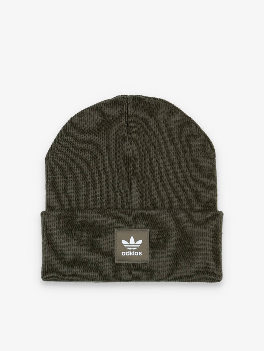 adidas Originals Luer Adicolor Cuff Knit khaki