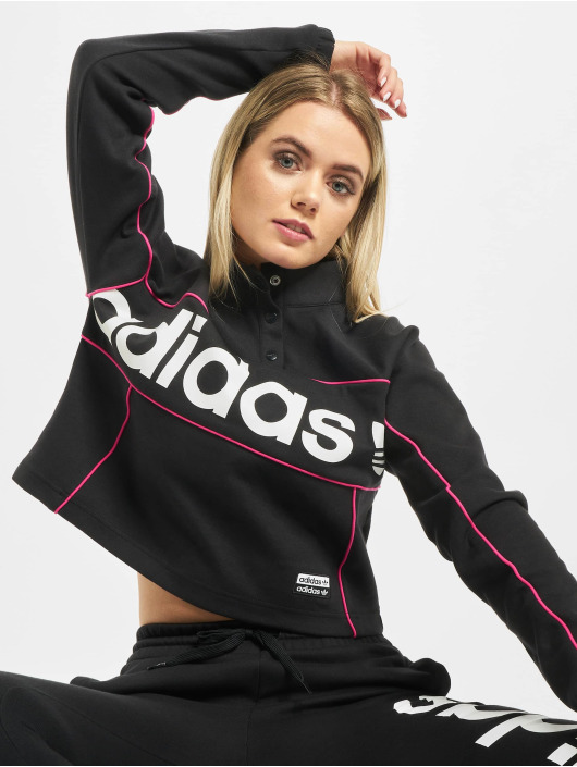 adidas Originals Maglia Cropped nero