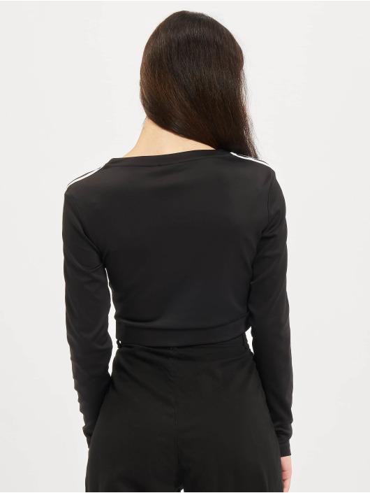 adidas Originals Maglietta a manica lunga Long Sleeve nero