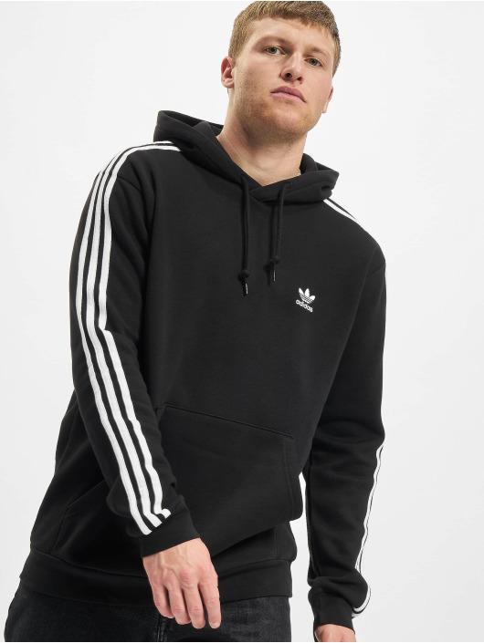 adidas Originals Mikiny 3-Stripes èierna