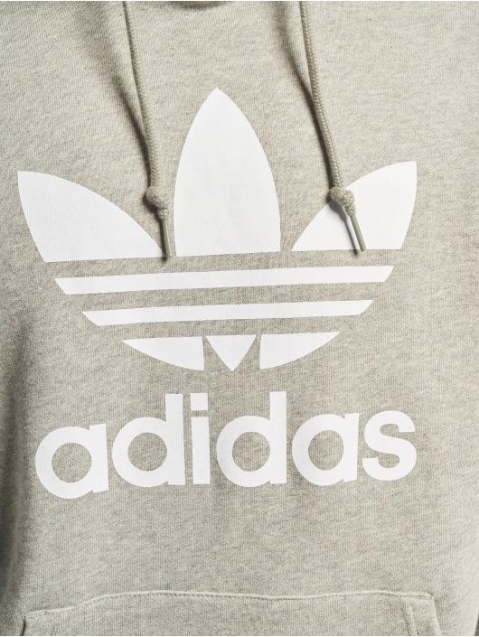 adidas Originals Mikiny Trefoil šedá