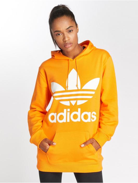adidas originals Mikiny BF Trefoil oranžová