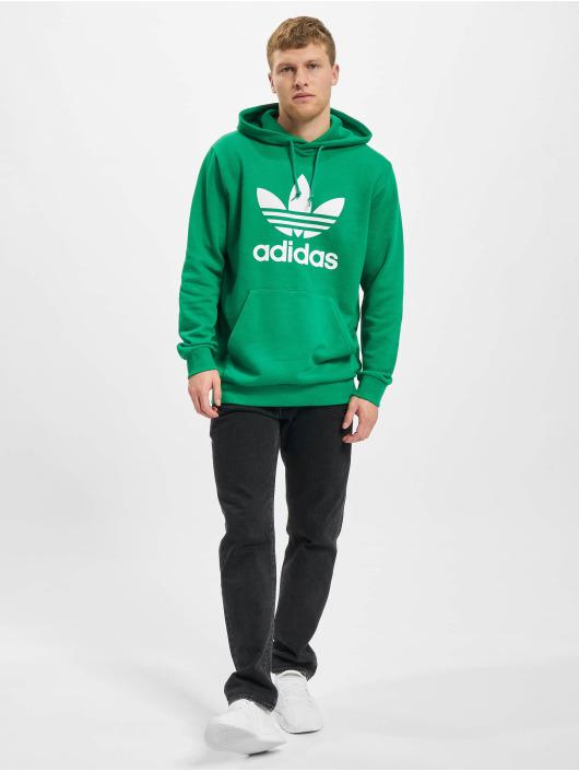 adidas Originals Mikiny Trefoil zelená