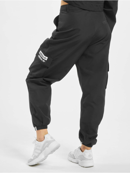 preview of fast delivery discount sale Adidas Originals Cargo Pants Black