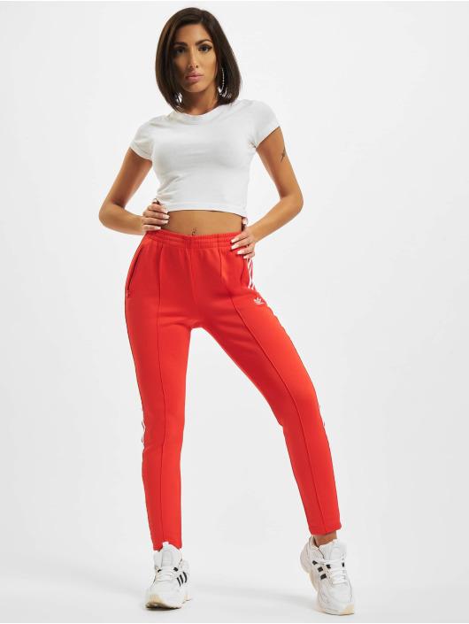 adidas Originals Pantalón deportivo SST PB rojo