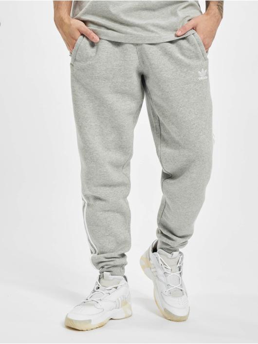 adidas Originals Pantalone ginnico 3-Stripes grigio