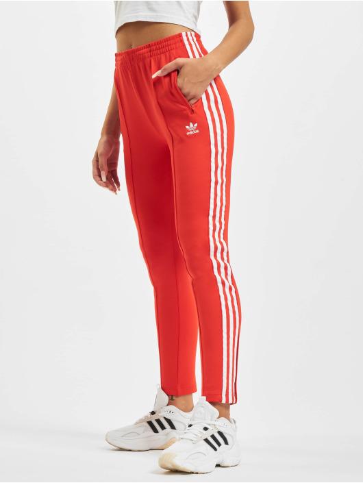 adidas Originals Pantalone ginnico SST PB rosso