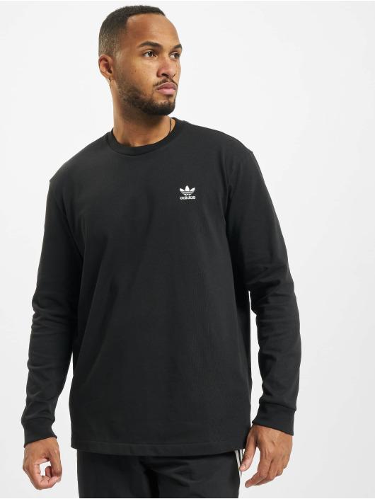 adidas Originals Pitkähihaiset paidat Back And Front Trefoil musta