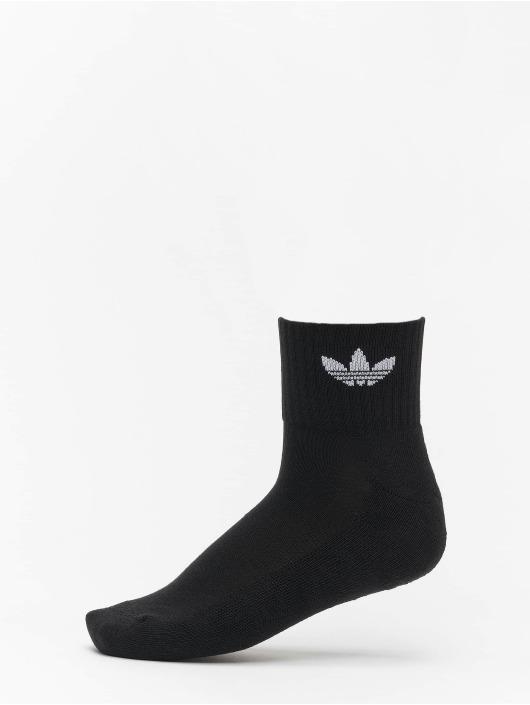 adidas Originals Ponožky Mid Ankle èierna