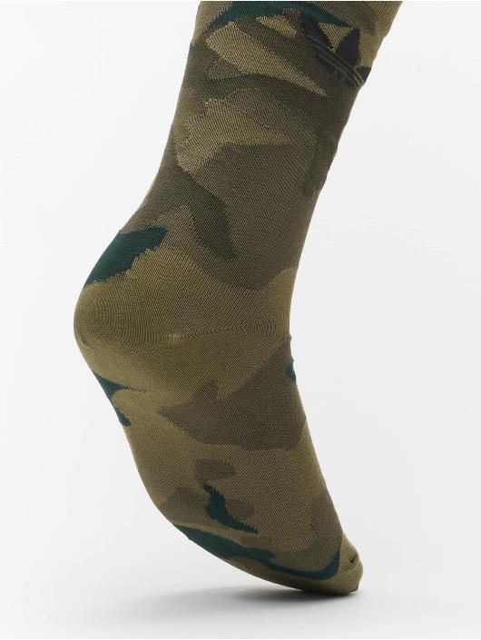adidas Originals Ponožky 2 Pack Camo èierna