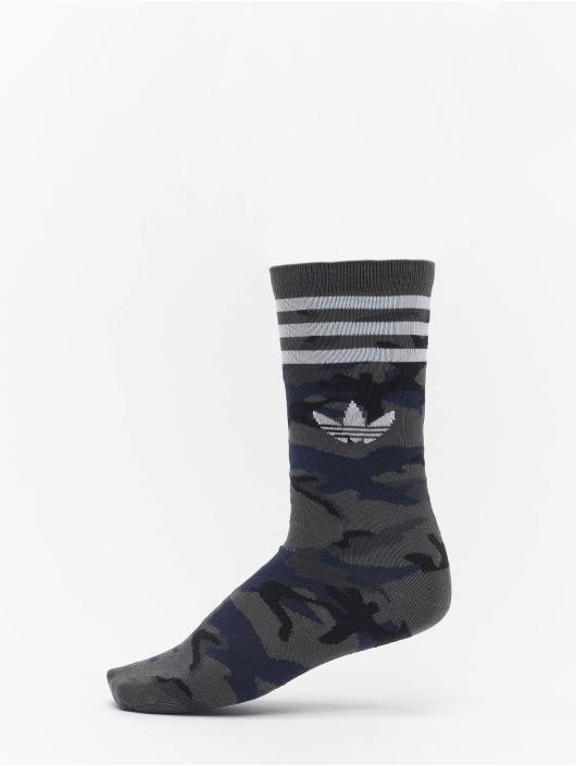 adidas Originals Ponožky Camo Crew šedá