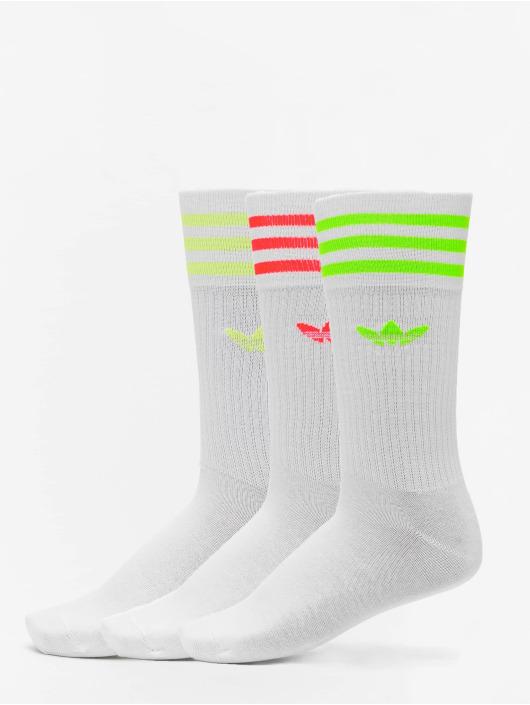 adidas Originals Ponožky Solid Crew biela