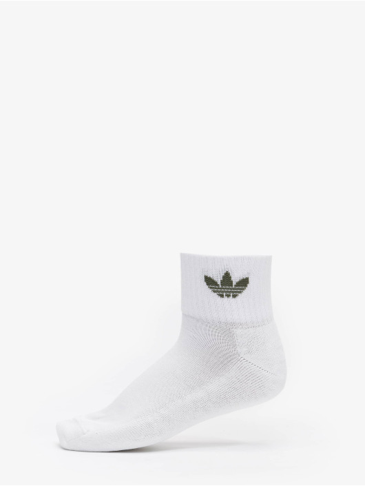 adidas Originals Ponožky Mid 3-Pack biela