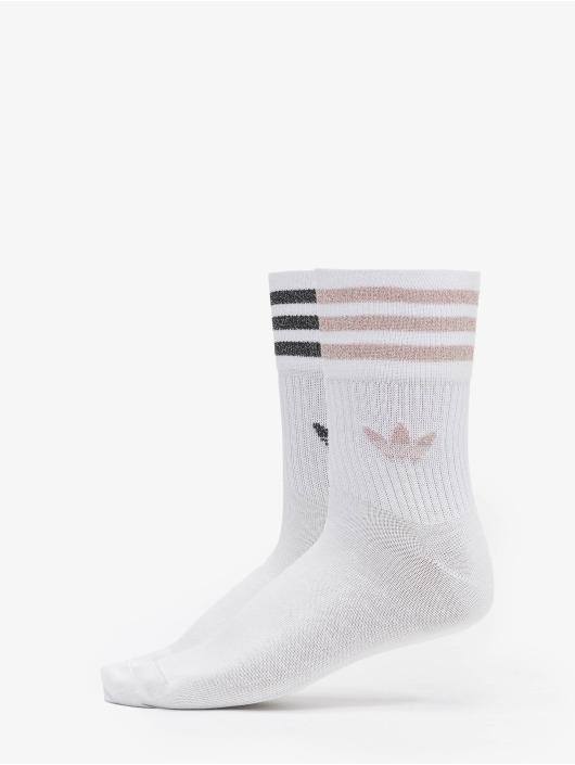 adidas Originals Ponožky Cut Glitter biela