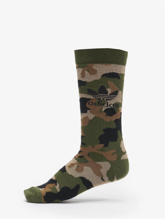 adidas Originals Ponožky Camo olivový