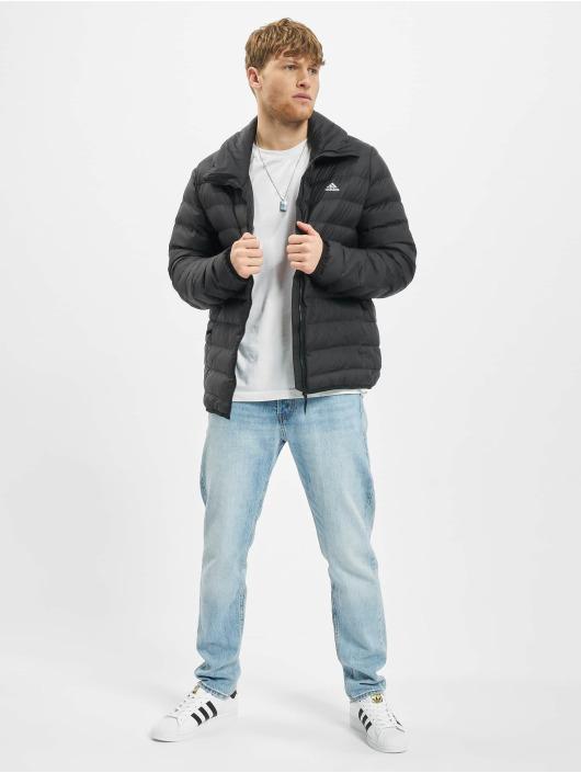 adidas Originals Prešívané bundy Syn Fill èierna