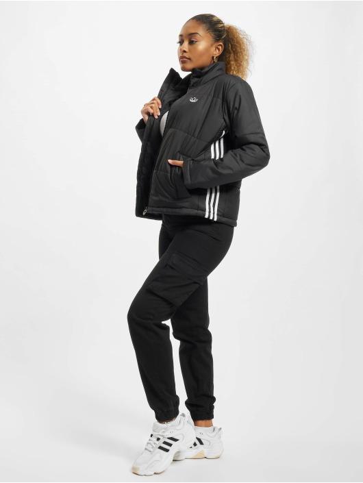 adidas Originals Prešívané bundy Short èierna