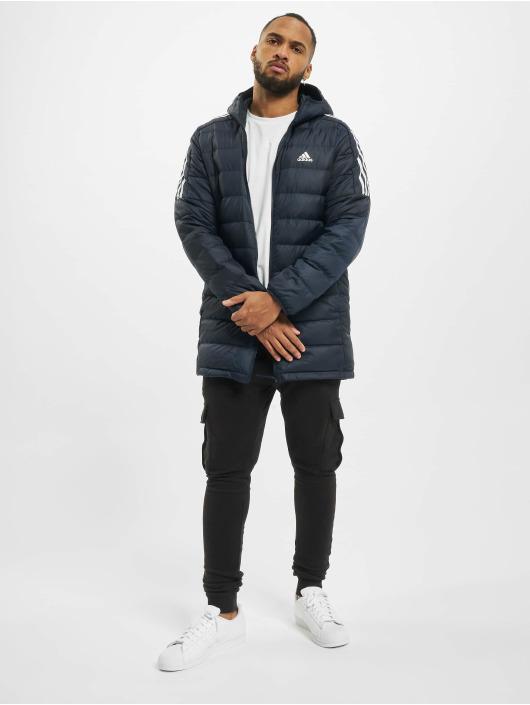 adidas Originals Prešívané bundy Ess Down modrá