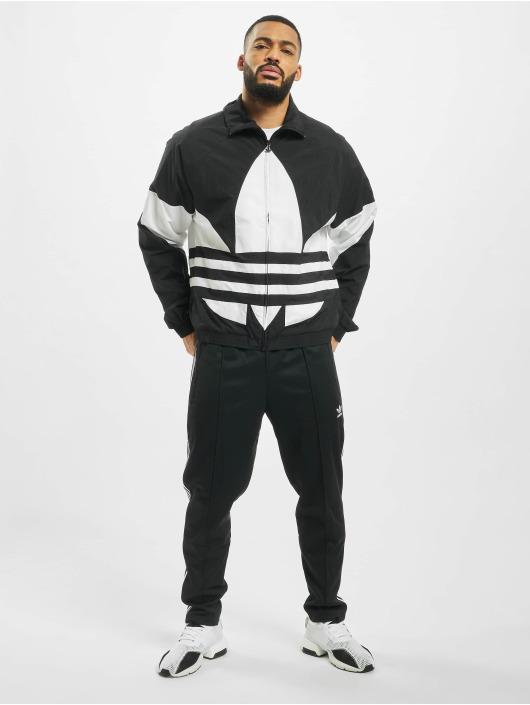 adidas Originals Prechodné vetrovky BG Trefoil èierna