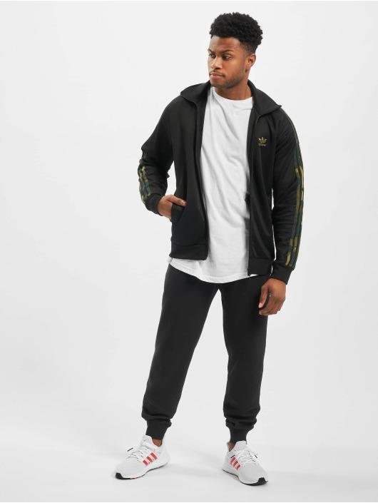 adidas Originals Prechodné vetrovky Camo èierna