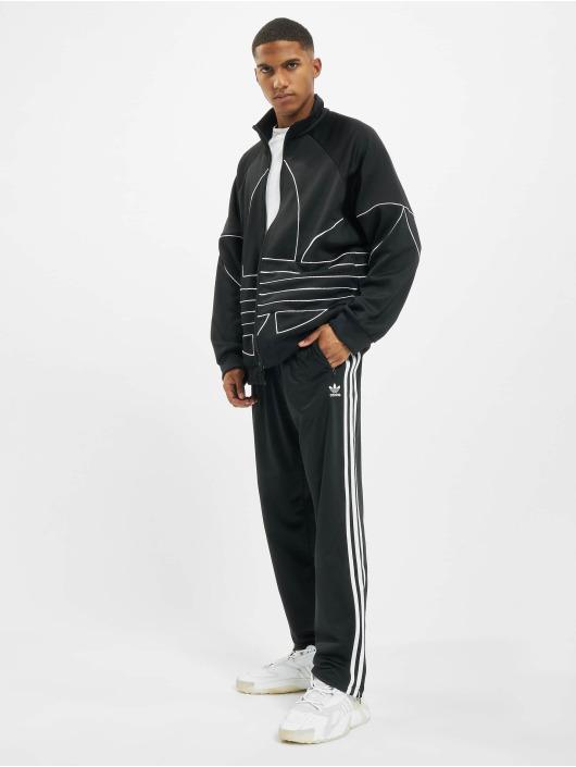 adidas Originals Prechodné vetrovky Big Trefoil Out Polytrico èierna