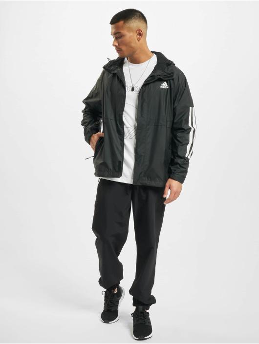 adidas Originals Prechodné vetrovky Bsc 3-Stripes èierna