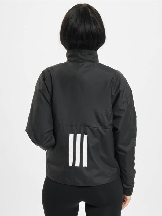 adidas Originals Prechodné vetrovky BTS Light èierna