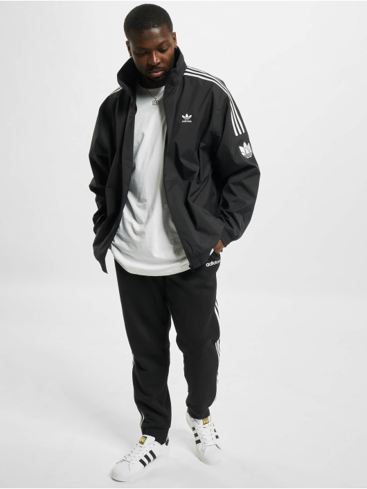 adidas Originals Prechodné vetrovky 3D Trefoil 3 Stripes èierna