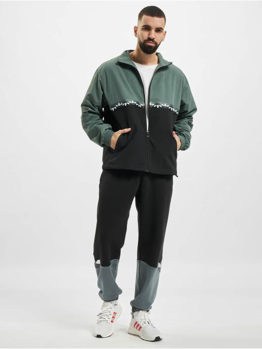 adidas Originals Prechodné vetrovky Slice Trefoil èierna