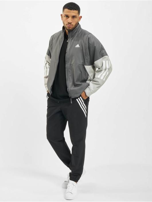 adidas Originals Prechodné vetrovky BTS Light šedá