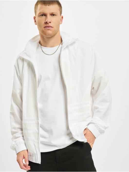 adidas Originals Prechodné vetrovky Big Trefoil biela