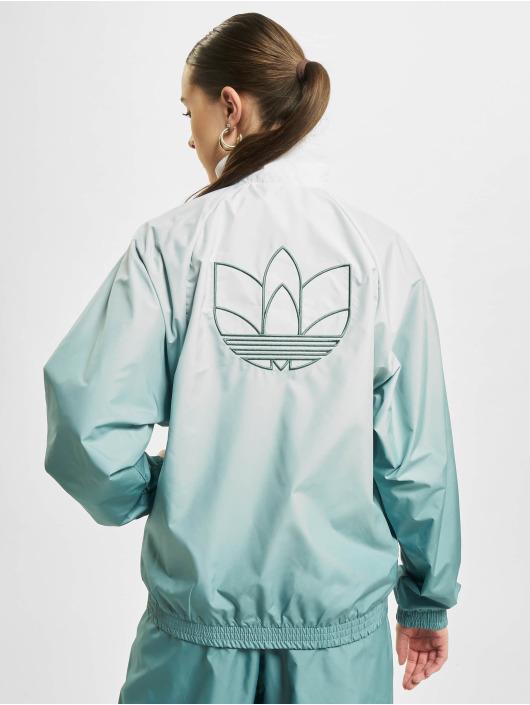 adidas Originals Prechodné vetrovky Originals Track biela