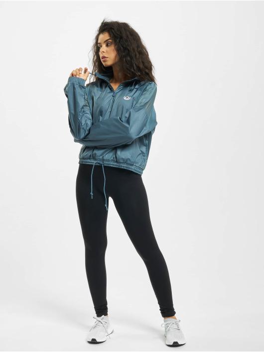 adidas Originals Prechodné vetrovky Windbreaker modrá