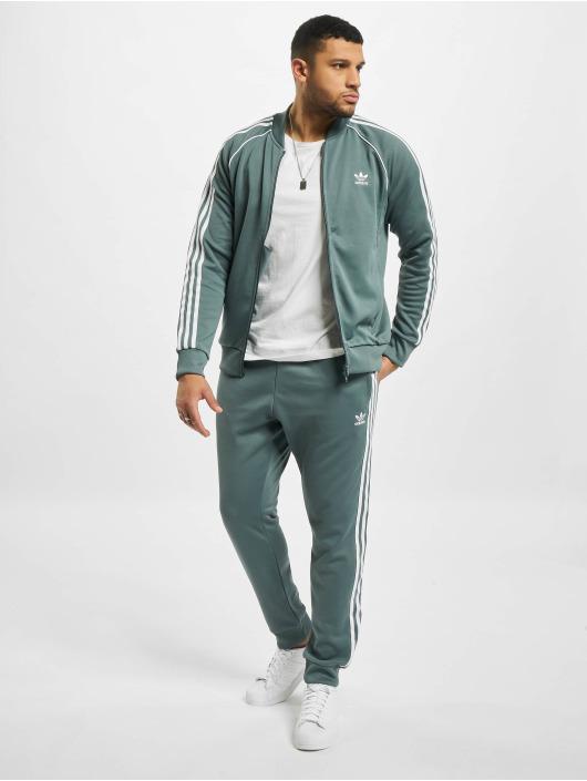 adidas Originals Prechodné vetrovky SST modrá