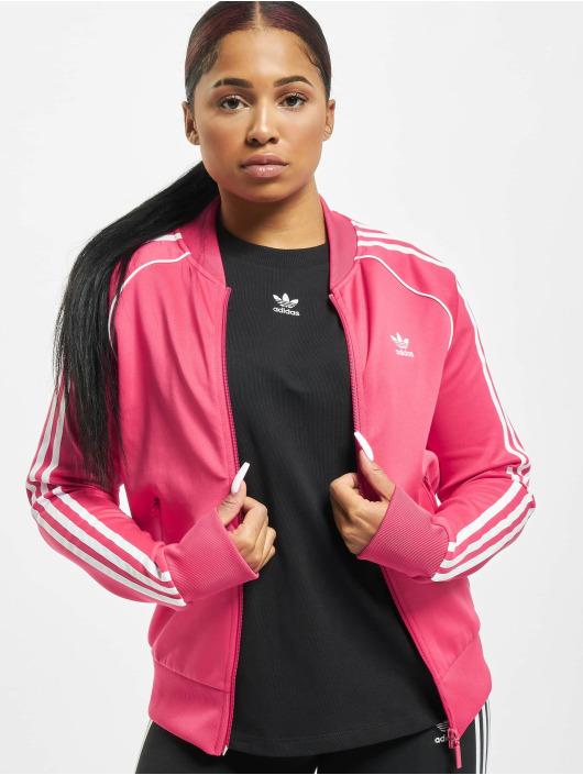 adidas Originals Prechodné vetrovky SST pink