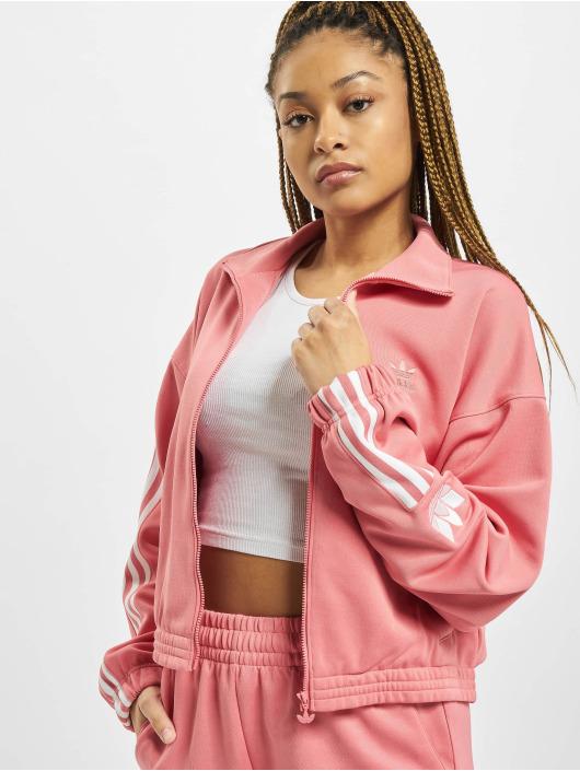 adidas Originals Prechodné vetrovky Track ružová