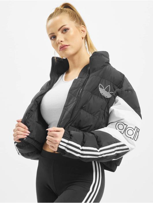 adidas Originals Puffer Jacket Cropped schwarz