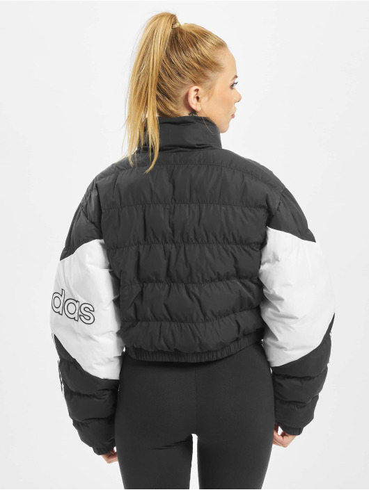 Adidas Originals Cropped Puffer Jacket Black