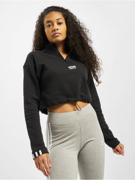 adidas Originals Pullover Cropped black
