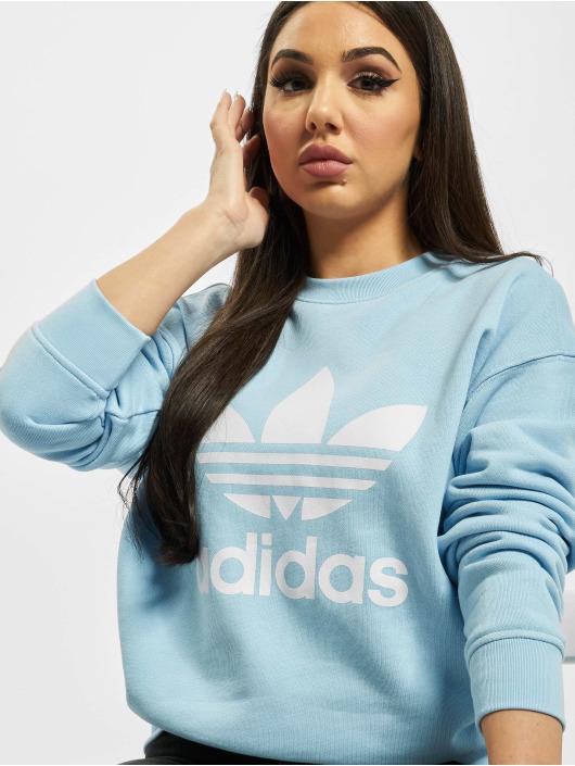 adidas Originals Pullover Trefoil blau