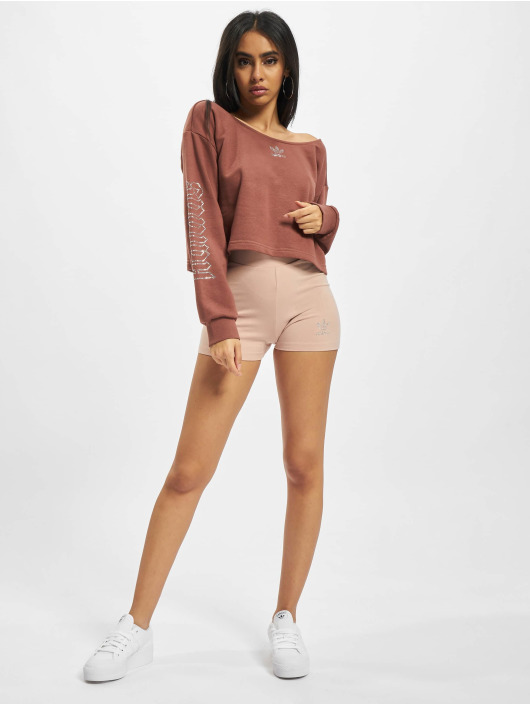 adidas Originals Pullover Slouchy Crew braun