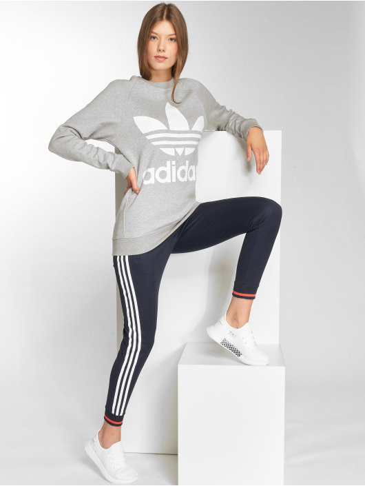 adidas originals Pullover Oversized Sweat grau