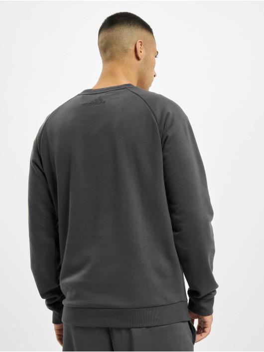 adidas Originals Pullover Tan Logo grau