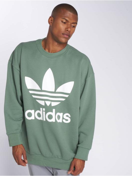 adidas originals Pullover Originals Tref Over Crew green