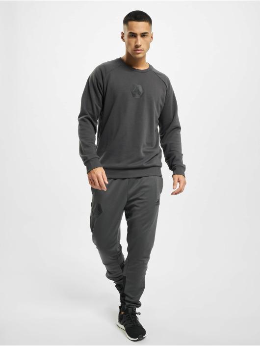 adidas Originals Pullover Tan Logo grey