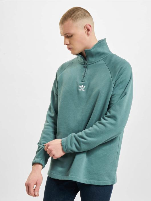 adidas Originals Pullover Trefoil Half grün