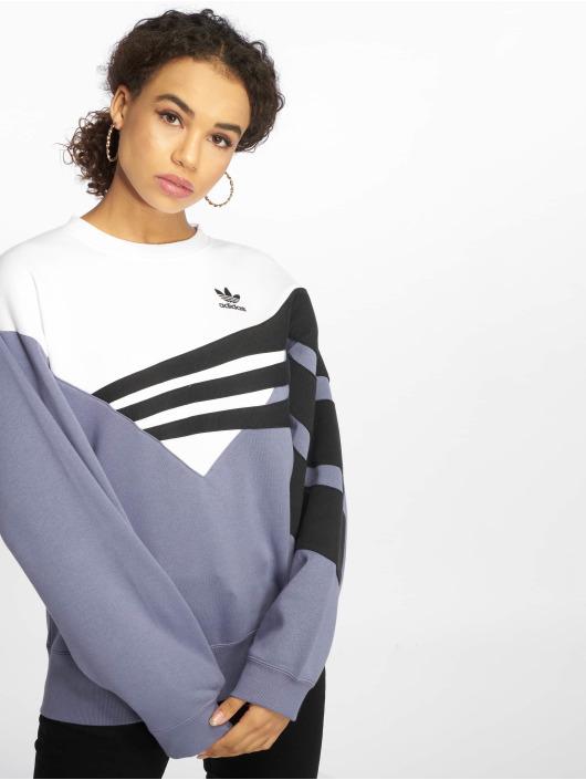 adidas originals Pullover diagonal indigo