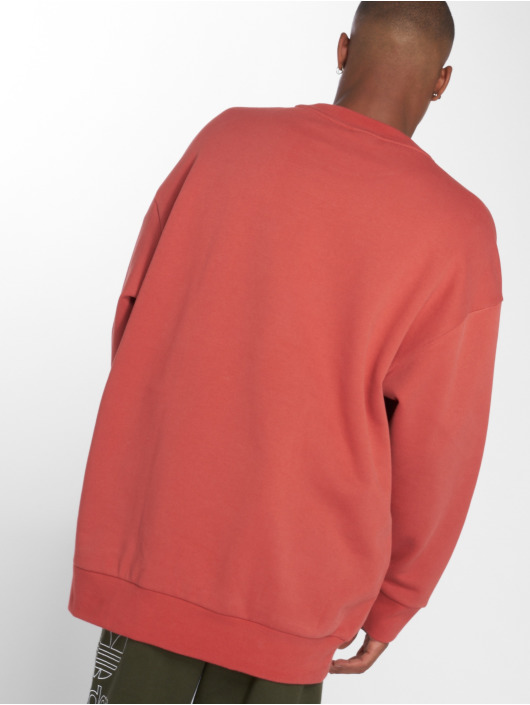 adidas originals Pullover Tref Over Crew orange