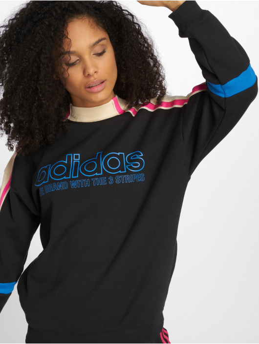 adidas originals Pullover Sweat schwarz